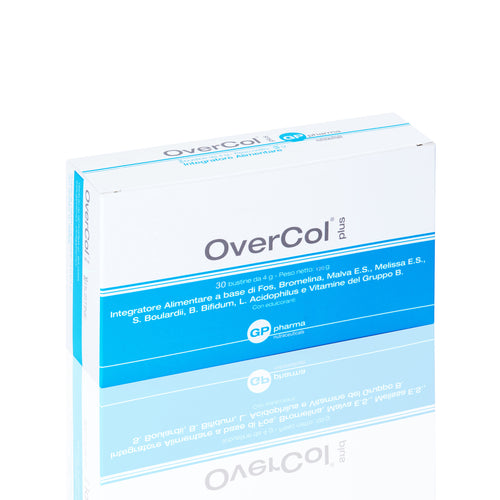 Overcol Plus® Integratore nutraceutico per la sindrome del colon irritabile