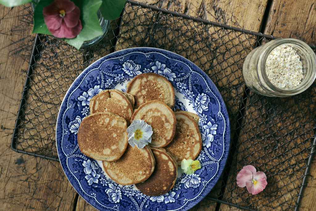 BANANA OAT HOT CAKES