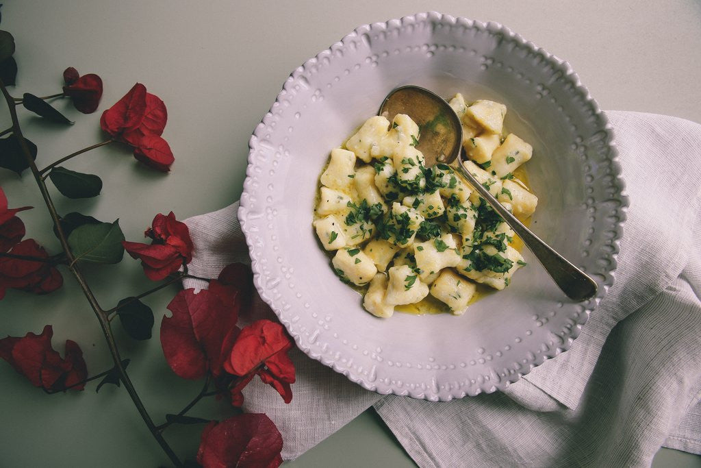 RICOTTA GNOCCHI IN LEMONY BUTTER SAUCE