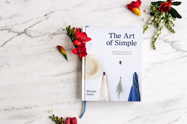 THE ART OF SIMPLE - PRE-ORDER SIGNED COPY
