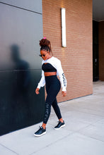 Load image into Gallery viewer, QUEEN LEGGINS BLACK