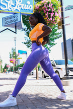 Load image into Gallery viewer, Andrea seamless leggings purple