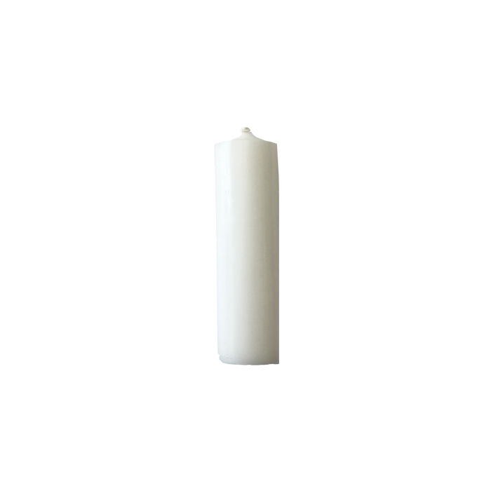 Short Wide Dinner Candles, (100 mm - 4 inches tall)