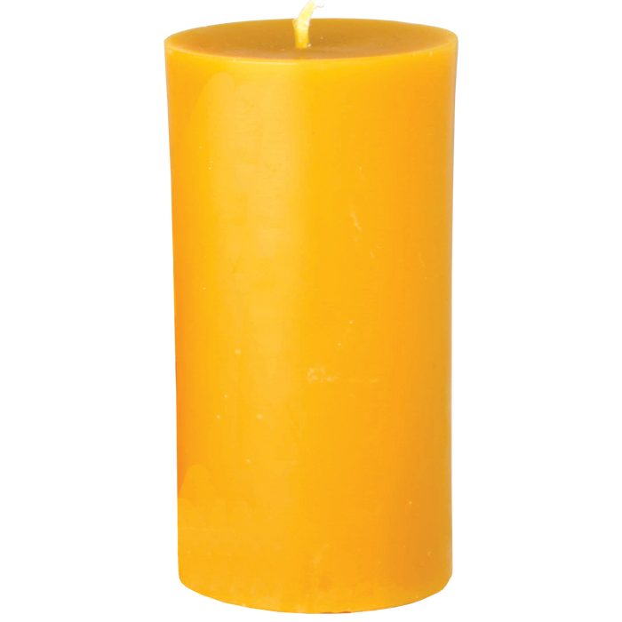 Beeswax Pillar Candle, large
