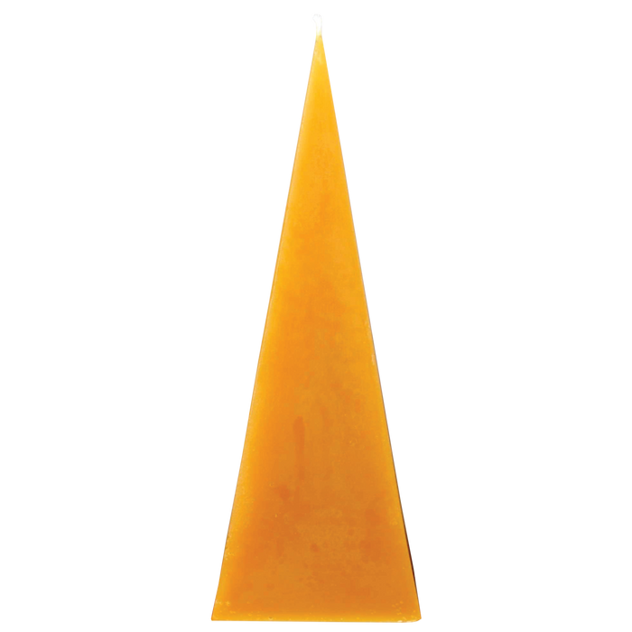 Large Beeswax Pyramid Candle