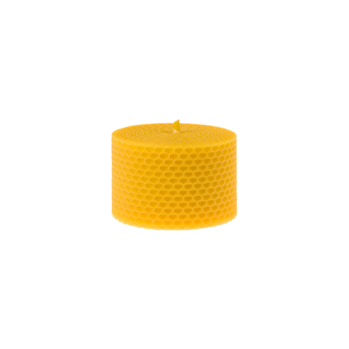 Honeycomb Beeswax Pillar Candle