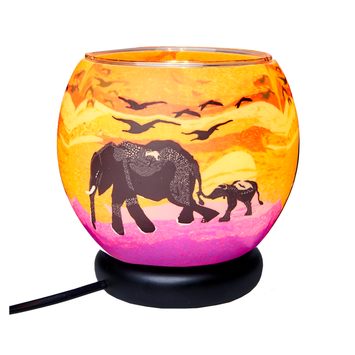 Elephant and Baby 11 cm Lamp