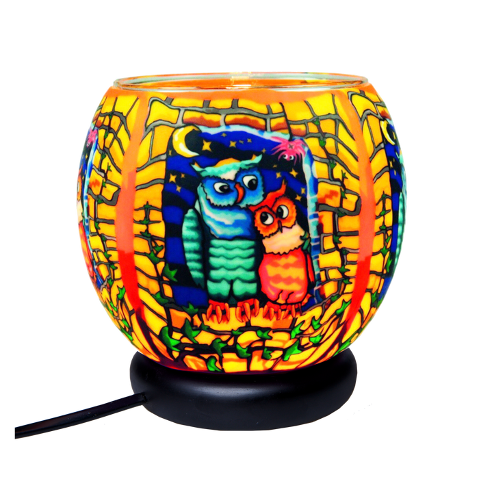 Owls by Night 11 cm Lamp