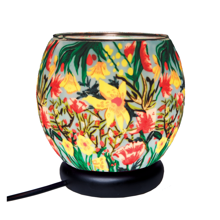 Tropical Flowers 11 cm Lamp