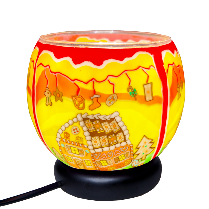 Gingerbread House 11 cm Lamp