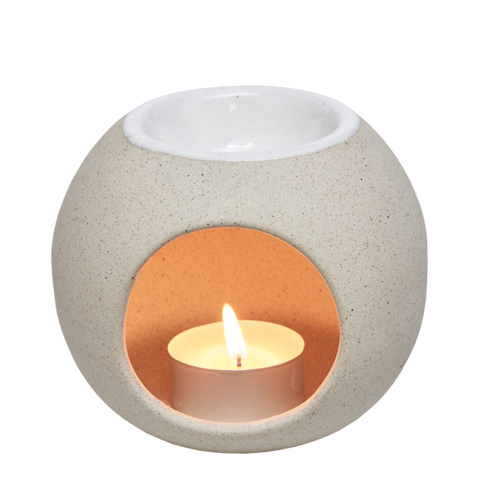 Sphere with hole Oil-burner