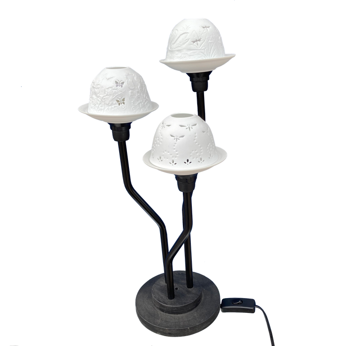 Dome-light Lamp for three shades