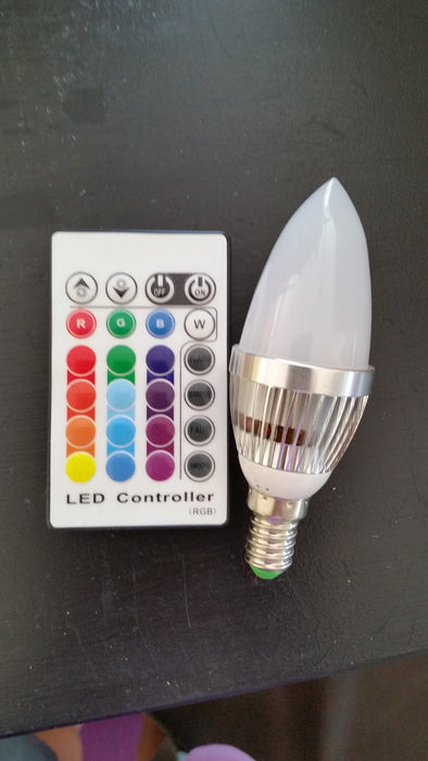 COLCH, Colouring Changing lightbulb with remote