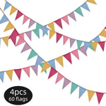 Load image into Gallery viewer, Reusable Bunting Banners (4 Pack)