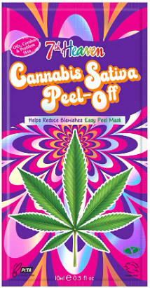 Cannabis & Sativa Seed Oil Easy Peel-Off Mask (10ml)