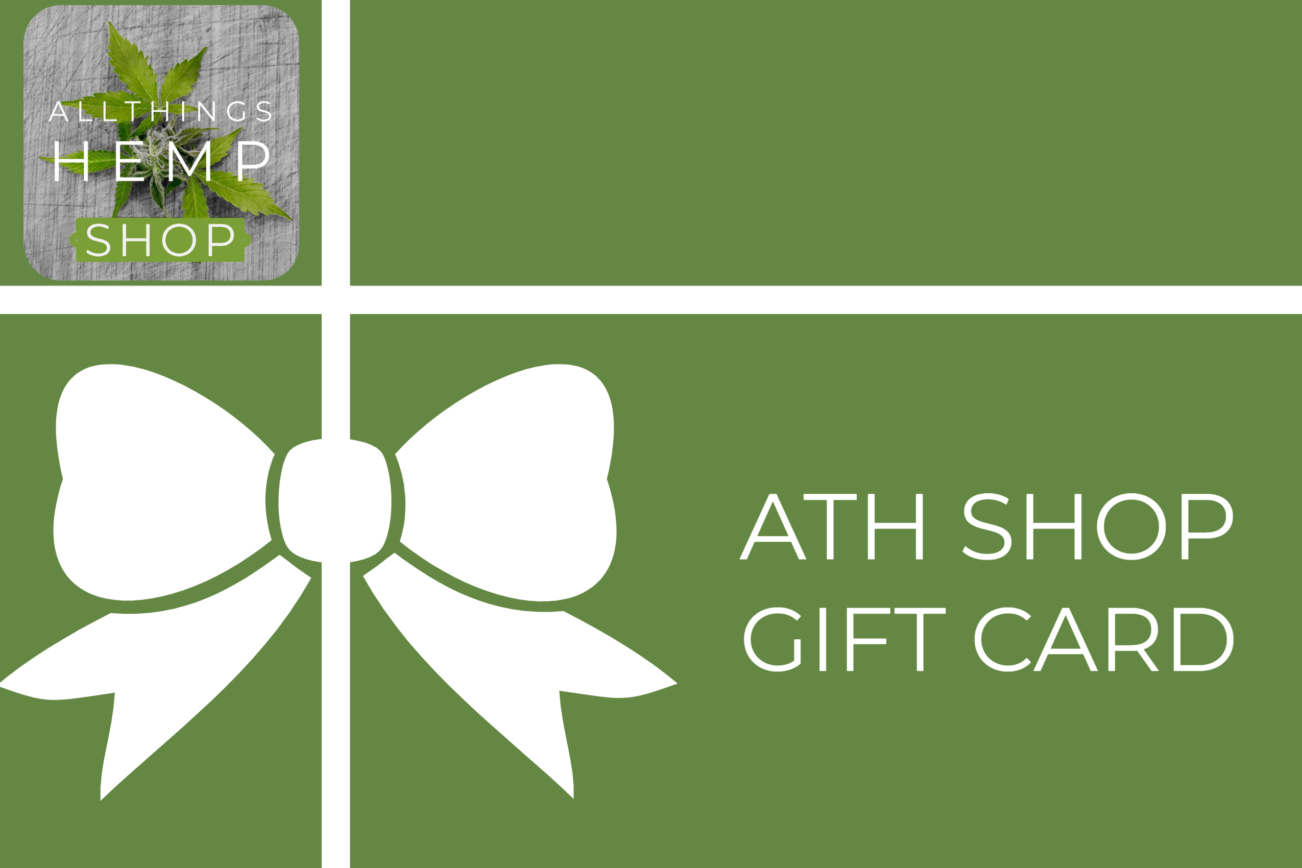 The ATH Shop Gift Card