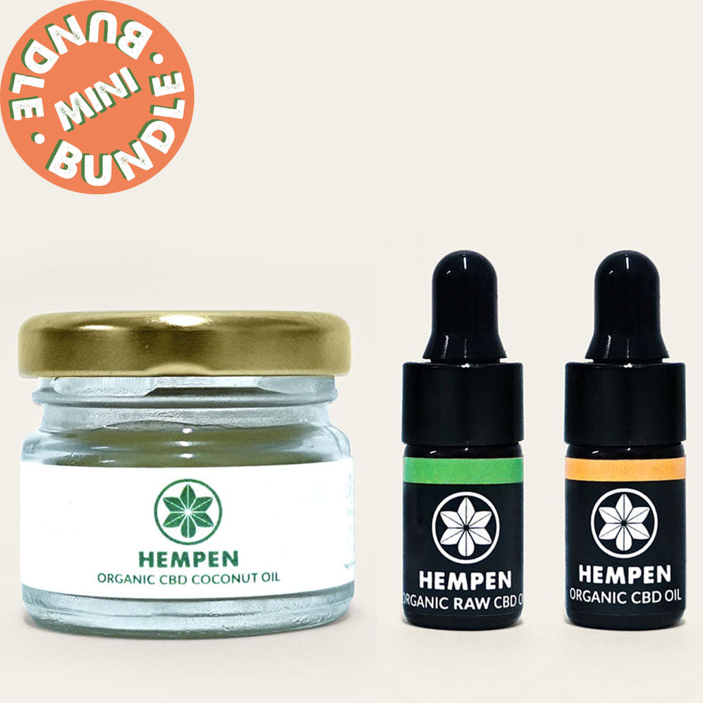 Self-Care Kit: Mini CBD Selection