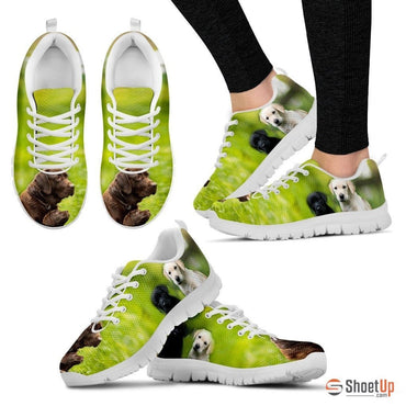 Labrador Print Running Shoes for Women