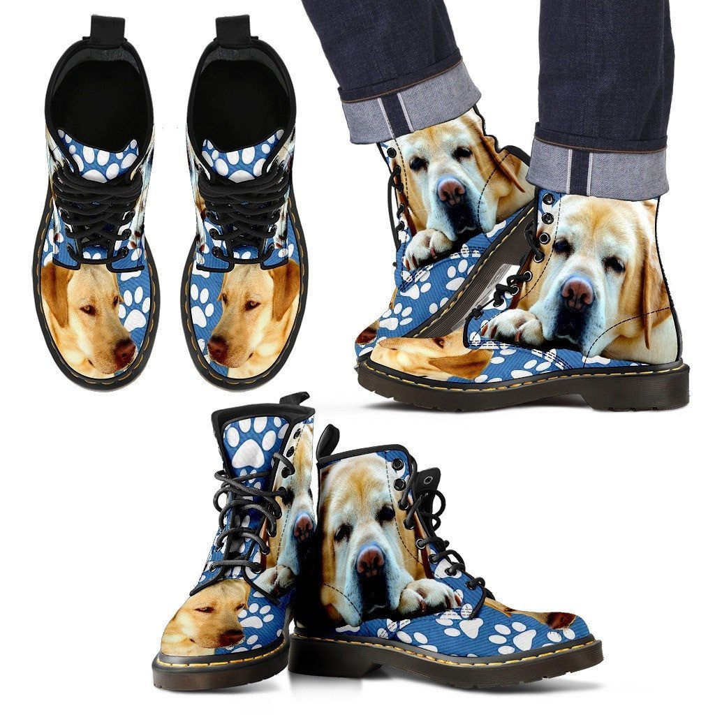 Paws Print Labrador Boots for Men Limited Edition