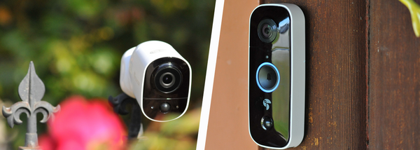 New 2021 Wireless Video Doorbell and Wireless Outdoor Camera from Toucan