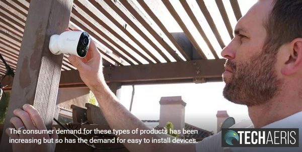 Toucan Unveils a New Wireless Video Doorbell and Wireless Outdoor Camera [TechAeris]