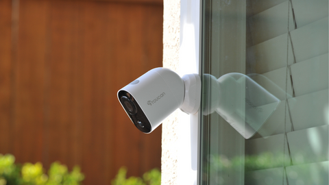 Wireless Outdoor Camera | Toucan Home Security and Spring Cleaning Tips