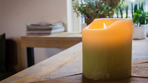 Candle - Bedroom Safety Tips