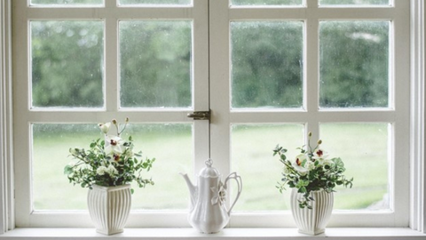 Lock all your windows for vacation home security