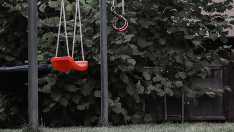 swing sets and slides should be inspected before summer