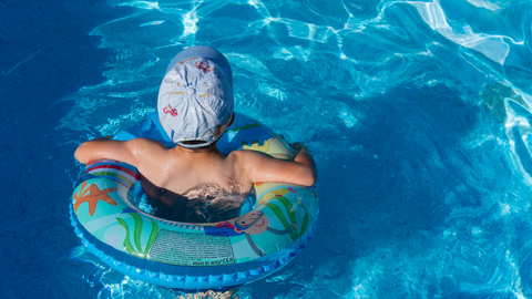 inspect your pool before the summer and add a wireless security camera
