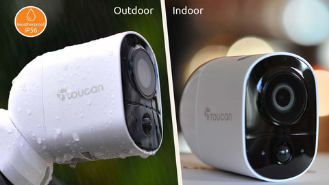 Apartment Wireless Outdoor Camera