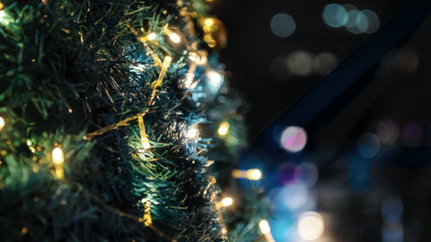 Christmas Lights - LED vs Regular - December Safety Tips