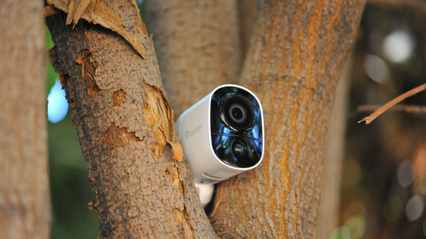 Wireless Outdoor Security Camera for Fall