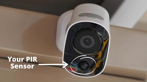 Wireless Outdoor Camera Motion Detection