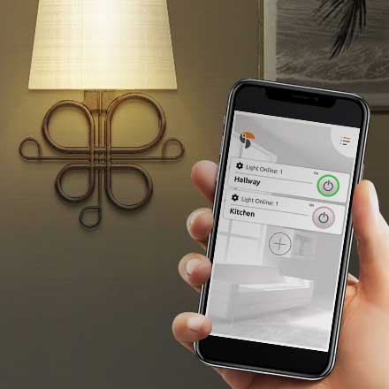 Connect and control multiple sconce lights in your home!