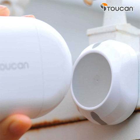 Toucan wireless outdoor camera magnetic mount