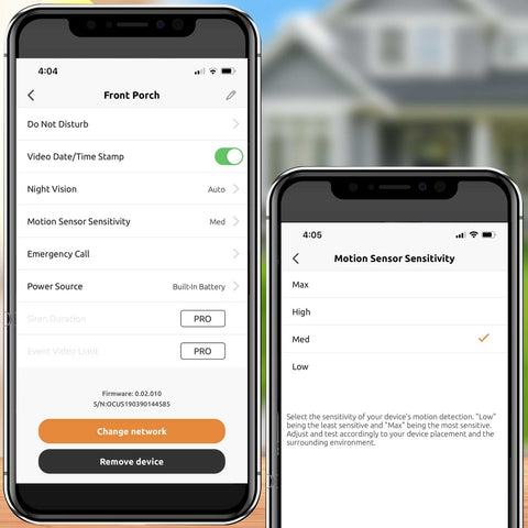 Toucan smart home app, receive instant notifications to your phone when motion is detected to always know what's happening at your home.