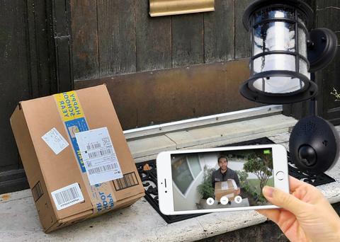 Doorbell cameras and package theft