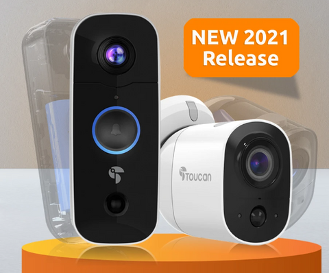 New battery for the Toucan wireless outdoor camera and doorbell camera