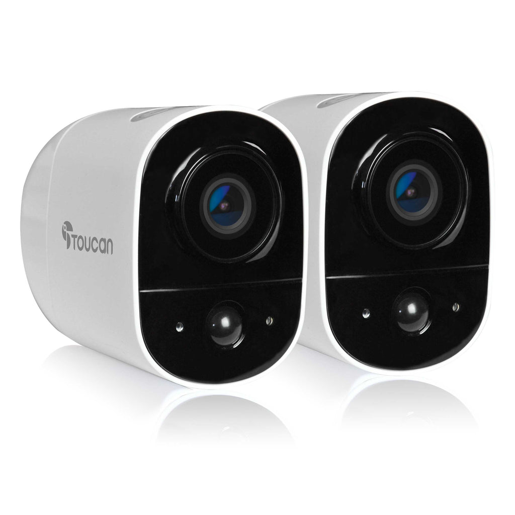Wireless Outdoor Camera (2 Pack)