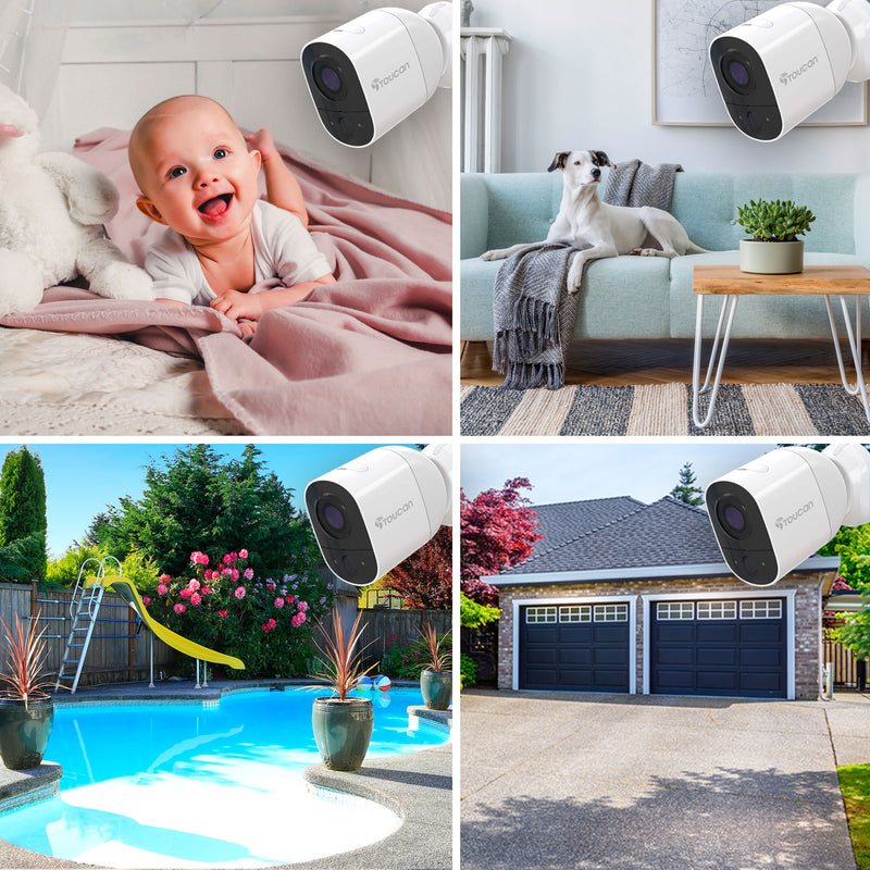 Wireless indoor camera and outdoor camera | baby monitor