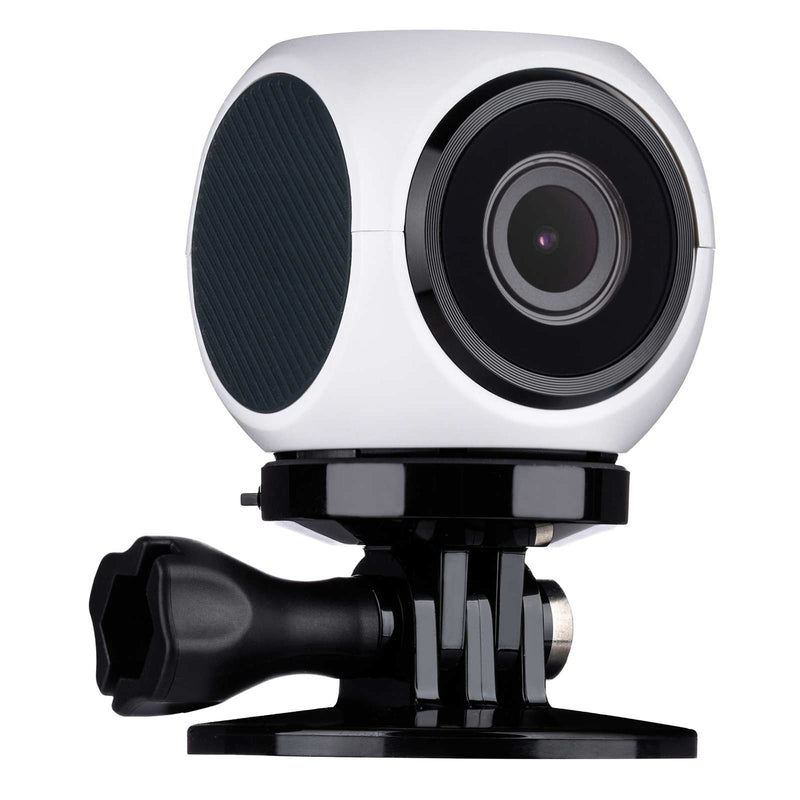 VuPoint Share Q Action Camera White | Universal Mounting