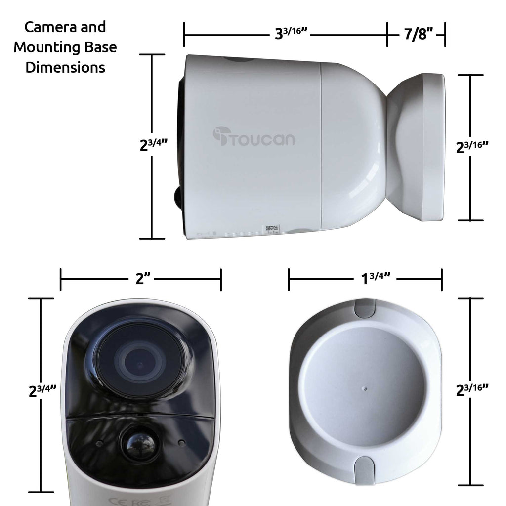 Wireless Outdoor Camera (4 Pack)