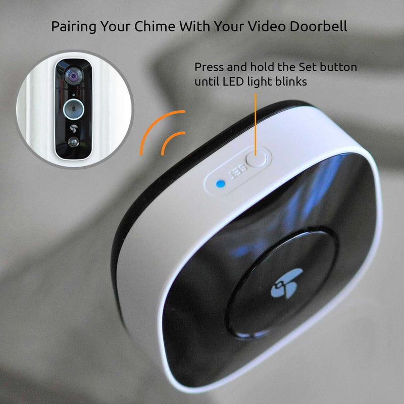 how to pair chime and doorbell