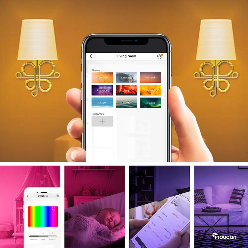 Mood Lighting | Ambiance | Smart  RGB Lighting