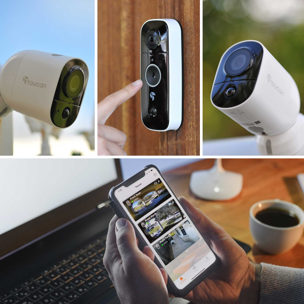 Wireless Outdoor Camera & Wireless Video Doorbell Bundle