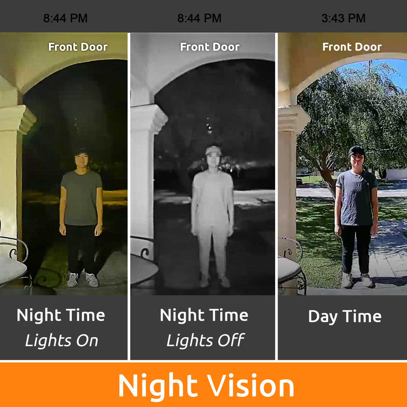 Night vision for Toucan doorbell camera