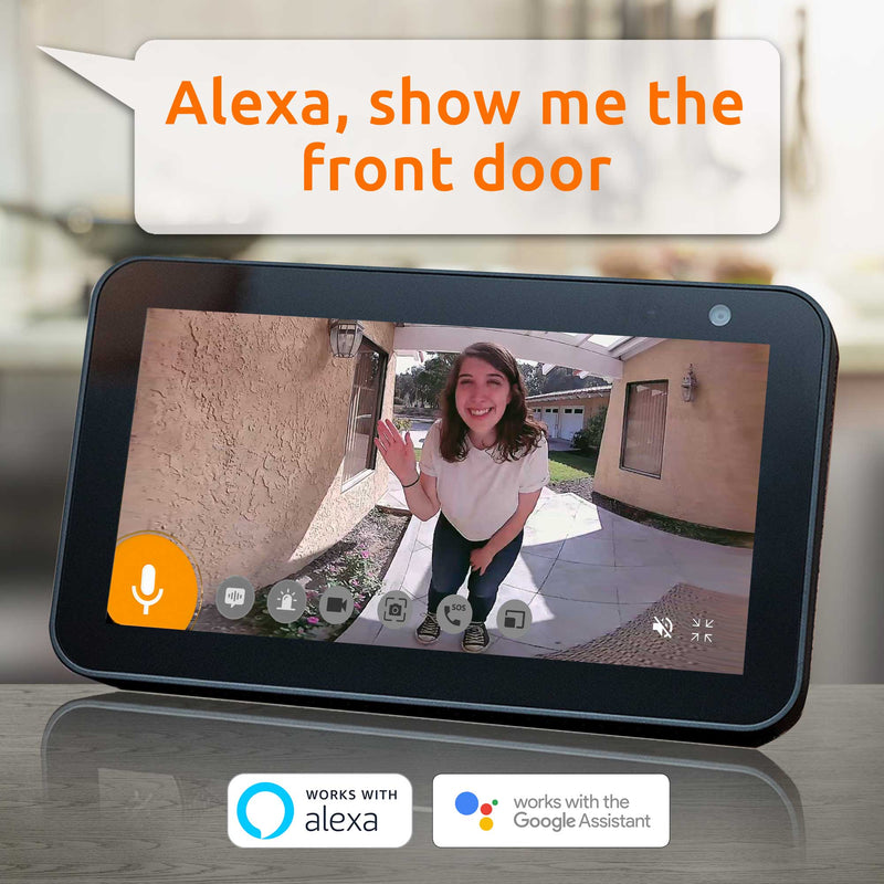 Alexa Echo Show Compatible Doorbell Camera