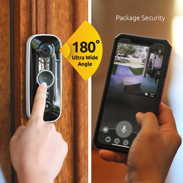 Toucan Wireless Video Doorbell 2 Pack - Get 2 Extra Wireless Chimes for FREE!