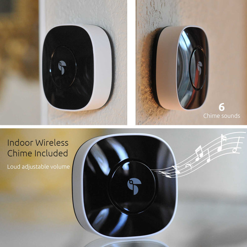 Wireless Chime for the Toucan Wireless Video Doorbell